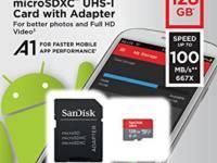Tarjeta de memoria de 128 gb
