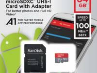 Tarjeta de memoria microSDXC de 64 GB
