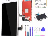 repuesto pantalla iphone 8 blanca