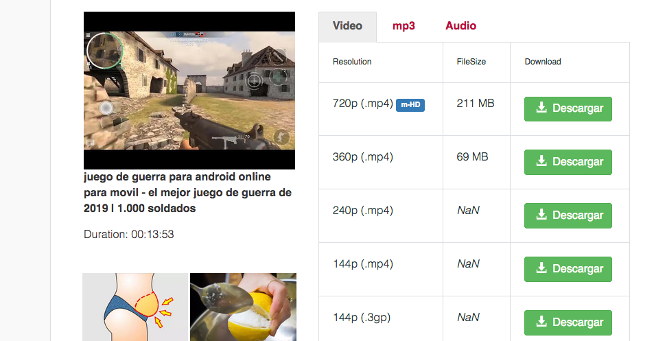 descargar videos youtube sin programas